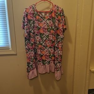 Cato Long Patterned Tunic